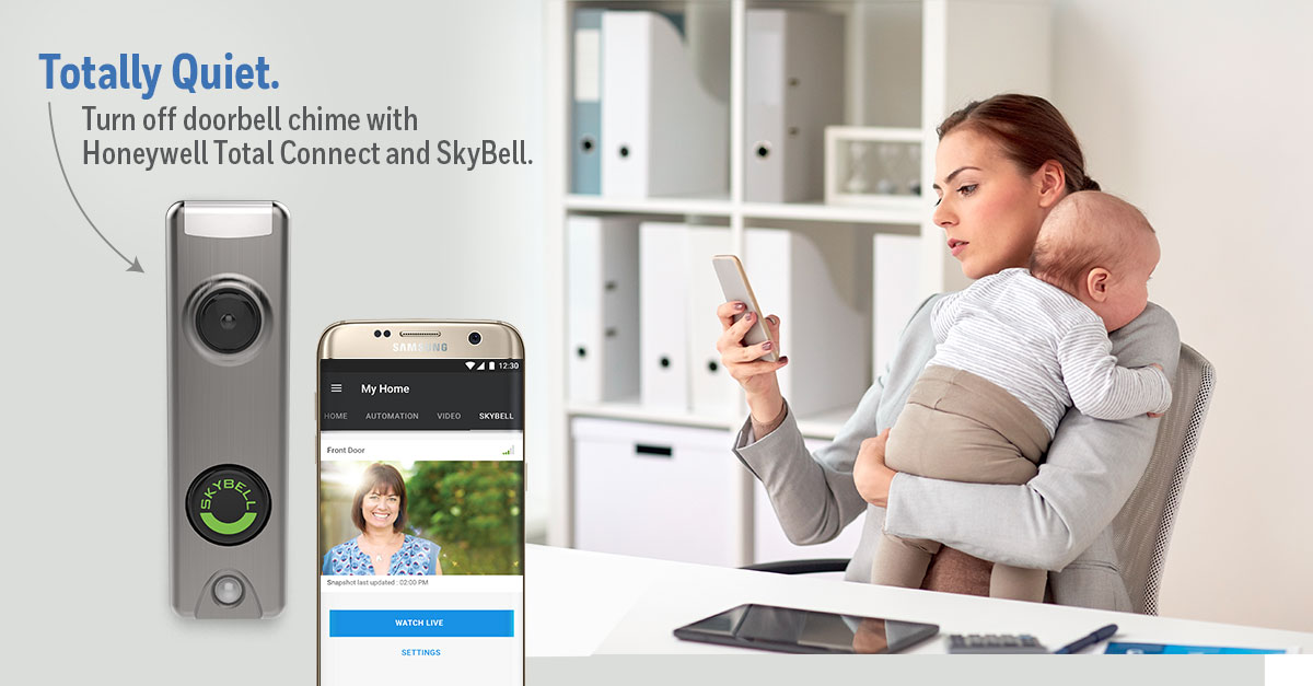 Secure Your Home - SkyBell Video Door Bell