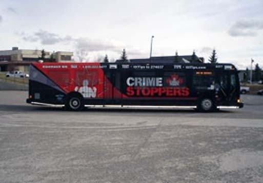 Crime Stoppers Bus