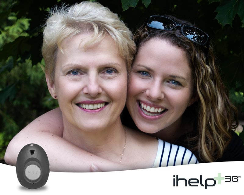 iHelp mom and daughter