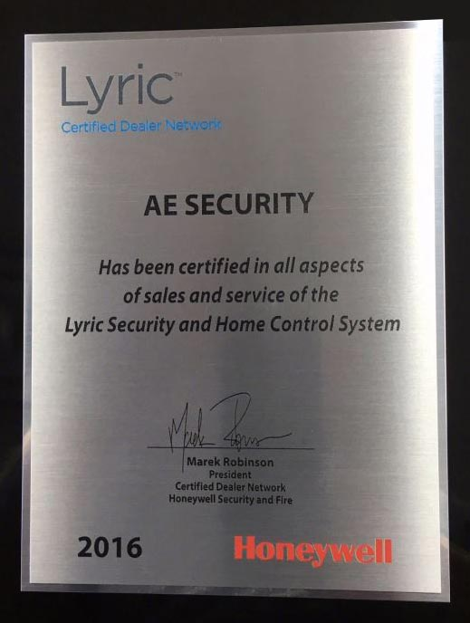 Honeywell Lyric Certified Dealer