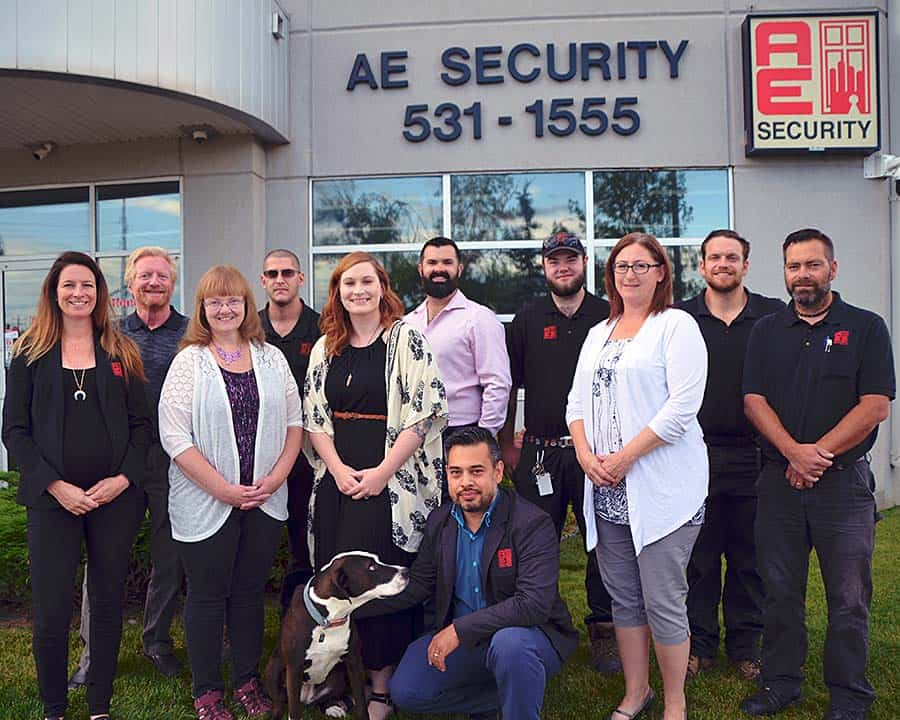 AE Security staff 2019